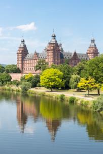 Johannisburg Castle Germanyの写真素材 [FYI00779905]