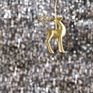 Raindeer christmas ornamentの素材 [FYI00779980]