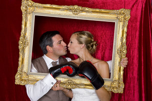 newlywedsの写真素材 [FYI00780083]