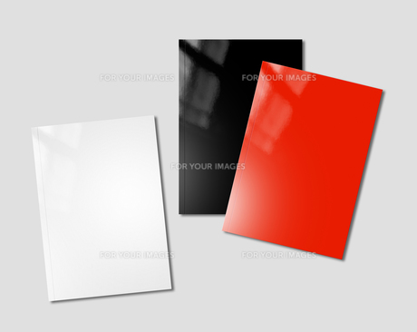 booklets mockup templateの写真素材 [FYI00780250]