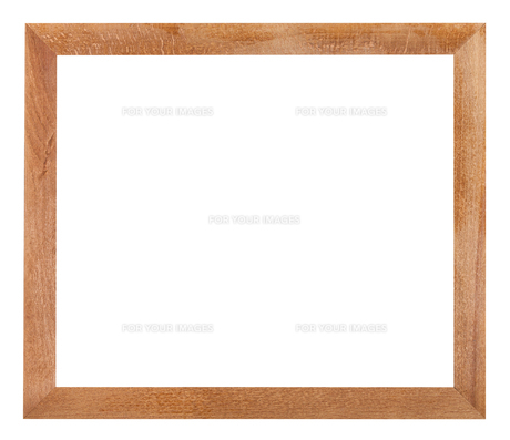 modern simple flat wooden picture frameの写真素材 [FYI00780347]