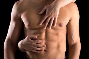 Man's bodyの写真素材 [FYI00780439]