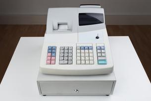 Cash Register Moneyboxの写真素材 [FYI00781055]