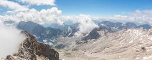Zugspitze Panorama Germanyの写真素材 [FYI00781344]