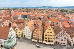 Rothenburg ob der Tauber Germanyの写真素材 [FYI00781349]