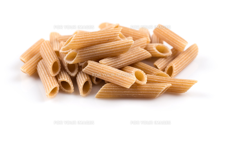 Wholegrain Penne Pastaの写真素材 [FYI00781408]