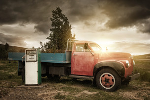 Truckの写真素材 [FYI00781888]