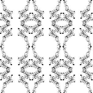 seamless damask patternの写真素材 [FYI00781932]