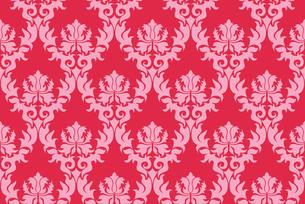 seamless damask patternの写真素材 [FYI00781953]