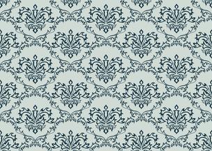 seamless damask patternの写真素材 [FYI00781977]