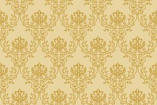 seamless damask patternの写真素材 [FYI00782000]