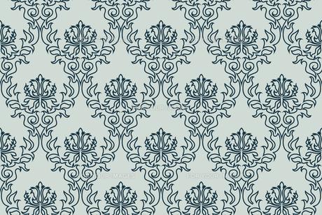 seamless damask patternの写真素材 [FYI00782007]