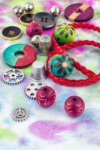 accessories for needleworkの写真素材 [FYI00782147]