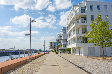Promenade Marina Europahafen Bremenの素材 [FYI00782307]