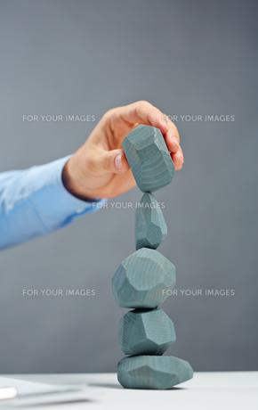Stone towerの写真素材 [FYI00782930]