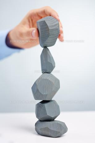 Stone constructionの写真素材 [FYI00782947]
