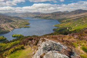 Loch Katrineの写真素材 [FYI00783037]