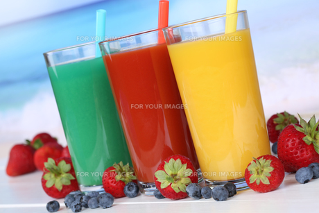 juice smoothie fruit juice orange juiceの写真素材 [FYI00783431]