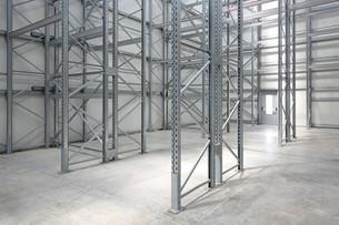 Empty Warehouseの写真素材 [FYI00783438]