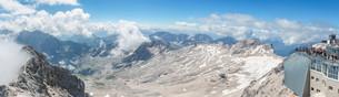Zugspitze Panorama Germanyの写真素材 [FYI00783527]