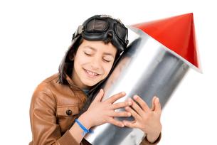 Rocket boyの写真素材 [FYI00783863]