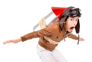 Rocket boyの写真素材 [FYI00783908]