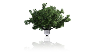 renewable energy concept,green energy symbolの素材 [FYI00783950]