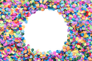 confetti colorful background with copy spaceの写真素材 [FYI00784034]