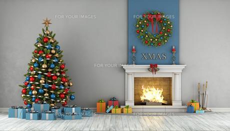 Christmas interiorの素材 [FYI00784155]