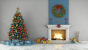 Christmas interiorの写真素材 [FYI00784155]