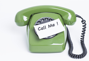 telephone call meの写真素材 [FYI00784242]