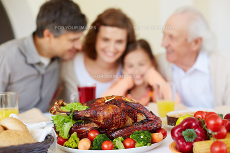 Fried turkey and vegetablesの写真素材 [FYI00784269]