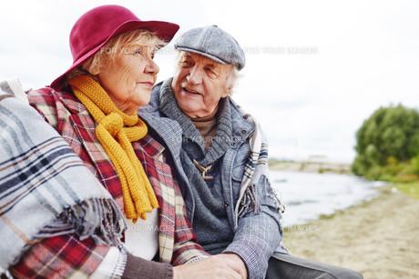 Restful aged coupleの素材 [FYI00784270]