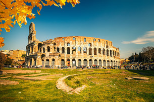 Colosseum in Romeの写真素材 [FYI00784374]