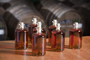 Bottled liquorの写真素材 [FYI00784438]