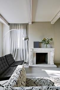 modern living roomの写真素材 [FYI00784483]