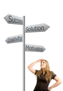 success-oriented workの写真素材 [FYI00784781]