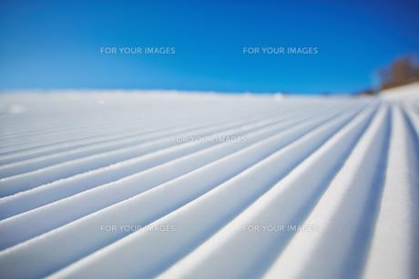 Snow and skyの素材 [FYI00785220]