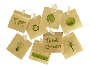 think greenの写真素材 [FYI00785336]