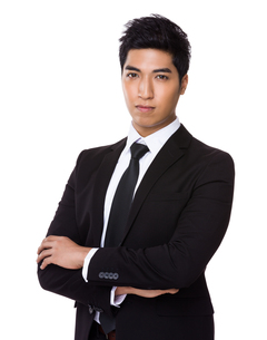 Chinese mixed Indian businessmanの写真素材 [FYI00785486]