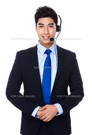 Customer services officerの写真素材 [FYI00785491]