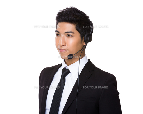 Customer services agentの写真素材 [FYI00785519]