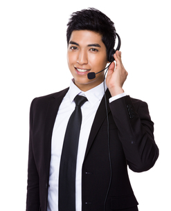 Customer service representativeの写真素材 [FYI00785530]