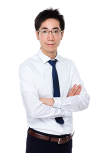 Young businessmanの写真素材 [FYI00785679]