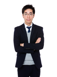 Young businessmanの写真素材 [FYI00785711]