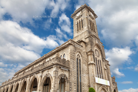 Old church in Nha Trang Vietnamの素材 [FYI00786091]