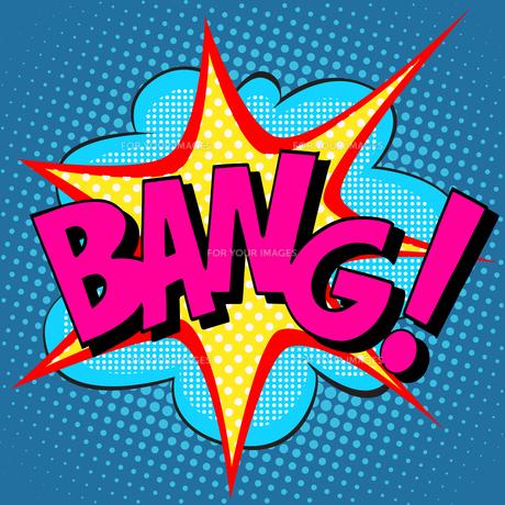 text Bang pop artの素材 [FYI00786158]