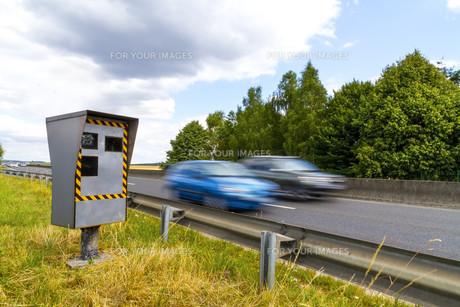 Automatic speed cameraの写真素材 [FYI00786254]