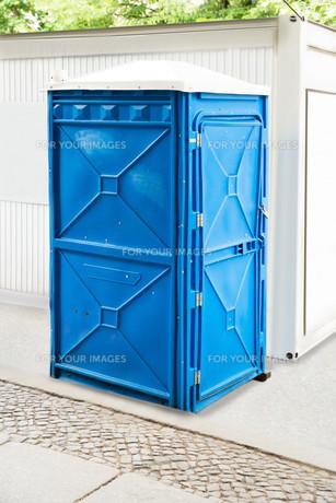 Bio Public Toiletの写真素材 [FYI00786543]