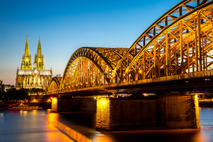 Cologne Cathedral Germanyの写真素材 [FYI00786636]